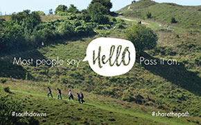 Share the path - hello