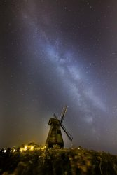 Rottingdean under Milky Way by Sumitra Sribhashyam