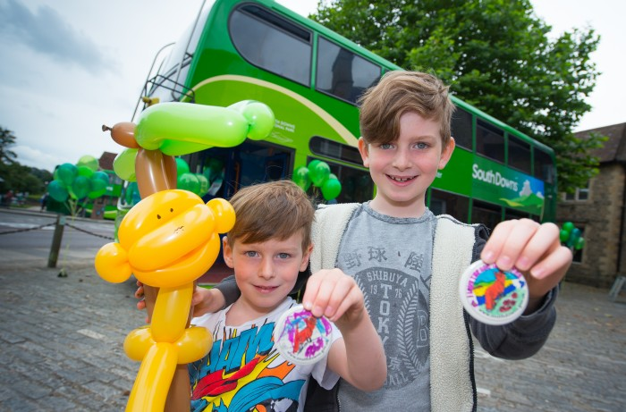 Stagecoach SouthDowns Bus launch - balloons