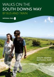 Walks on the South Downs Way by bus and train
