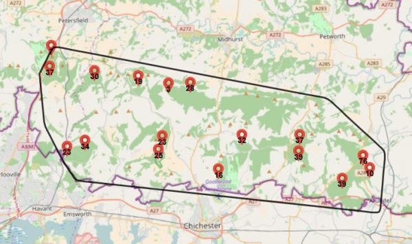 LiDar Interactive Map