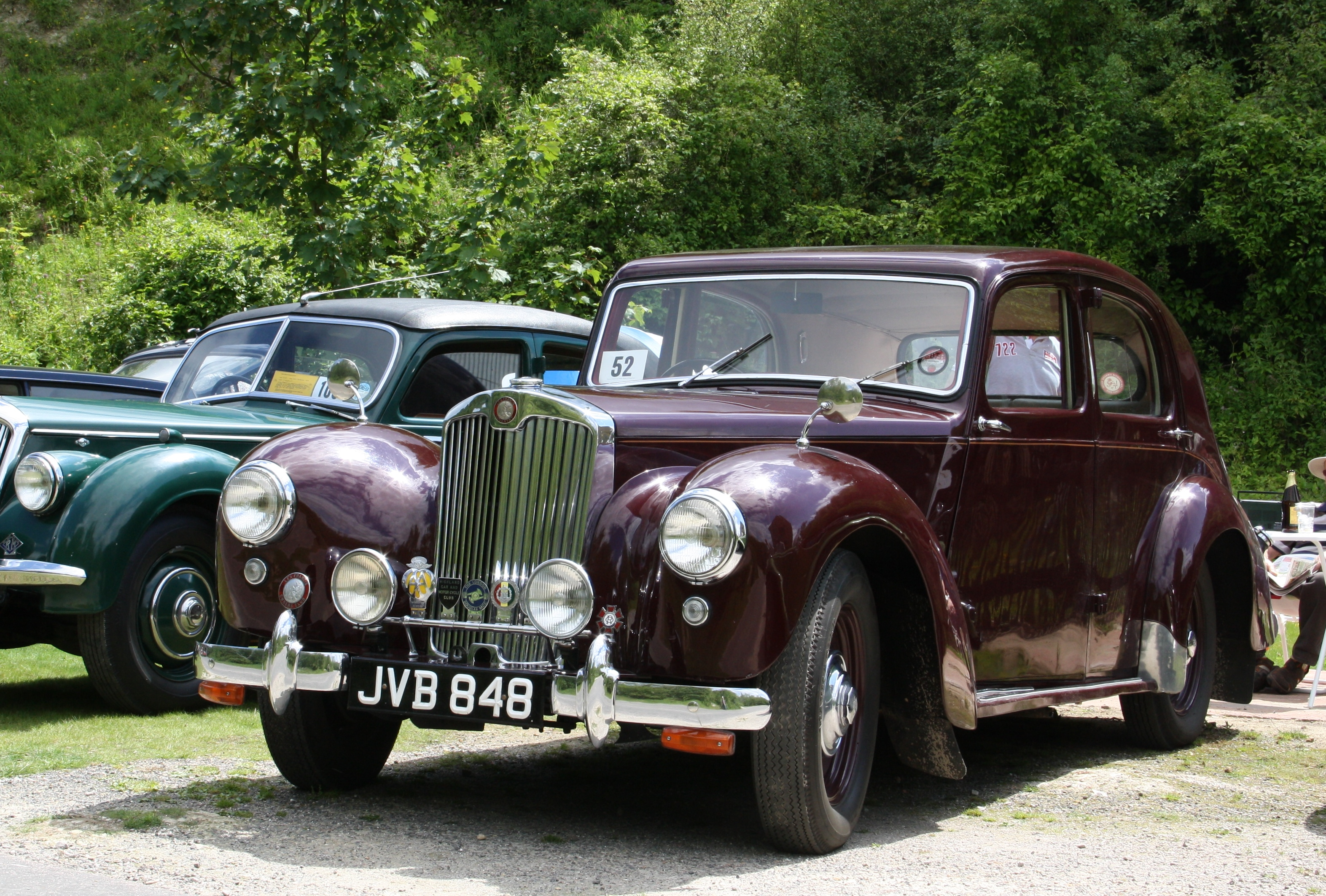 classic car show - south downs national park authority