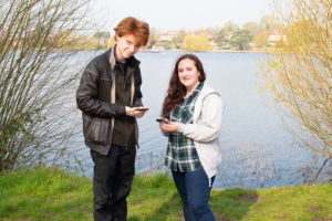 South Downs Youth Ambassadors Kirsty and Cameron